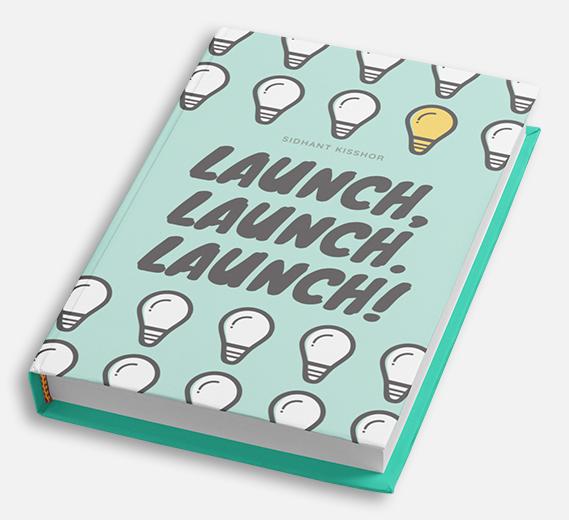 Launch, Launch. Launch! Book Mockup